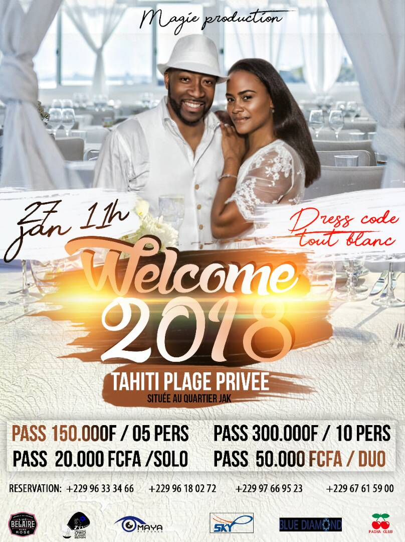 Welcome 2018 - TAHITI PLAGE PRIVEE