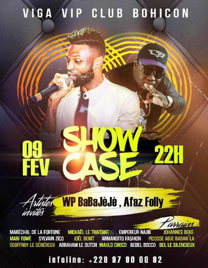 "Showcase ""WP BaBaJèJè et Afaz Folly"""