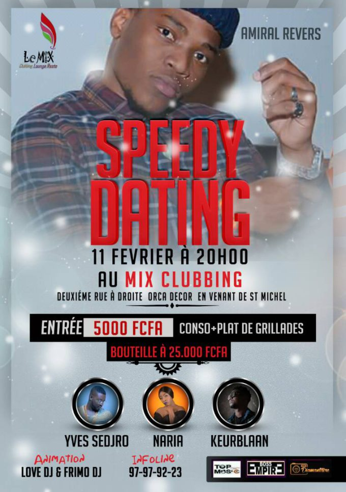 Speedy Dating avec Amiral Revers