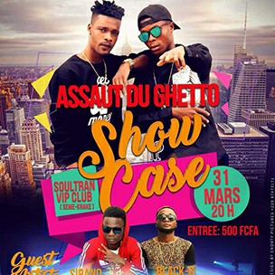 Soultran VIP Assaut Du Ghetto Show case