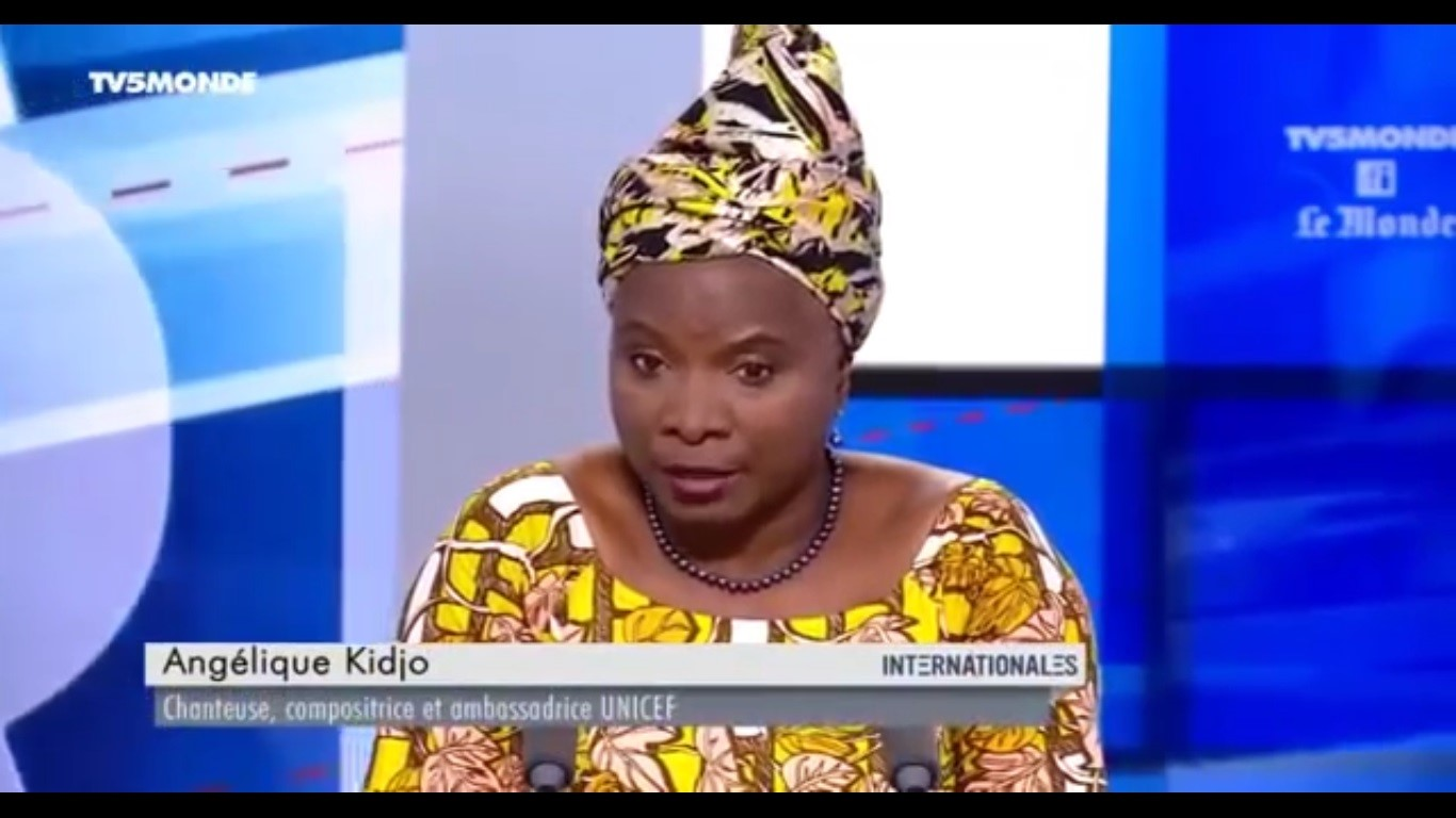 Interview – Angélique Kidjo sur TV5 monde