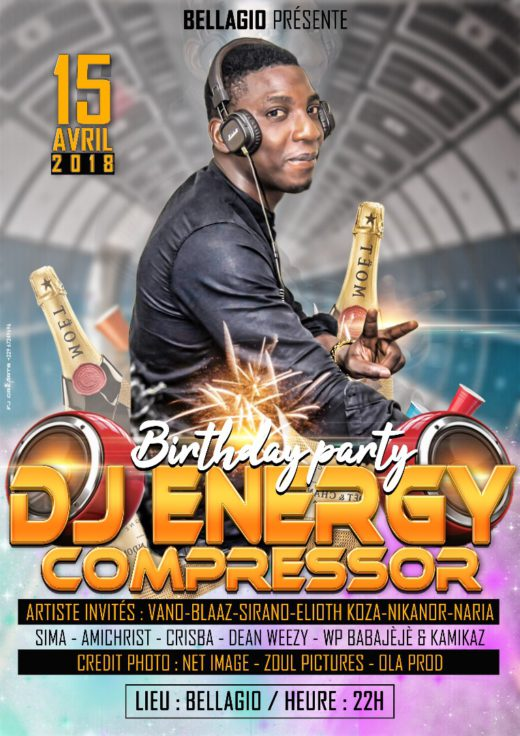 DJ Energy Compressor - Birthday Party 2018 | toutbaigne.com