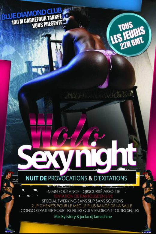 Wolo SexyNight - Blue Diamond Club | toutbaigne.com
