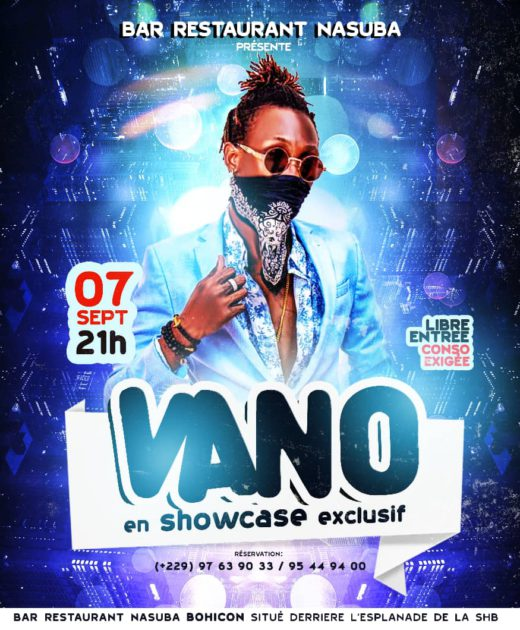 Vano Baby en showcase exclusif au bar NASUBA