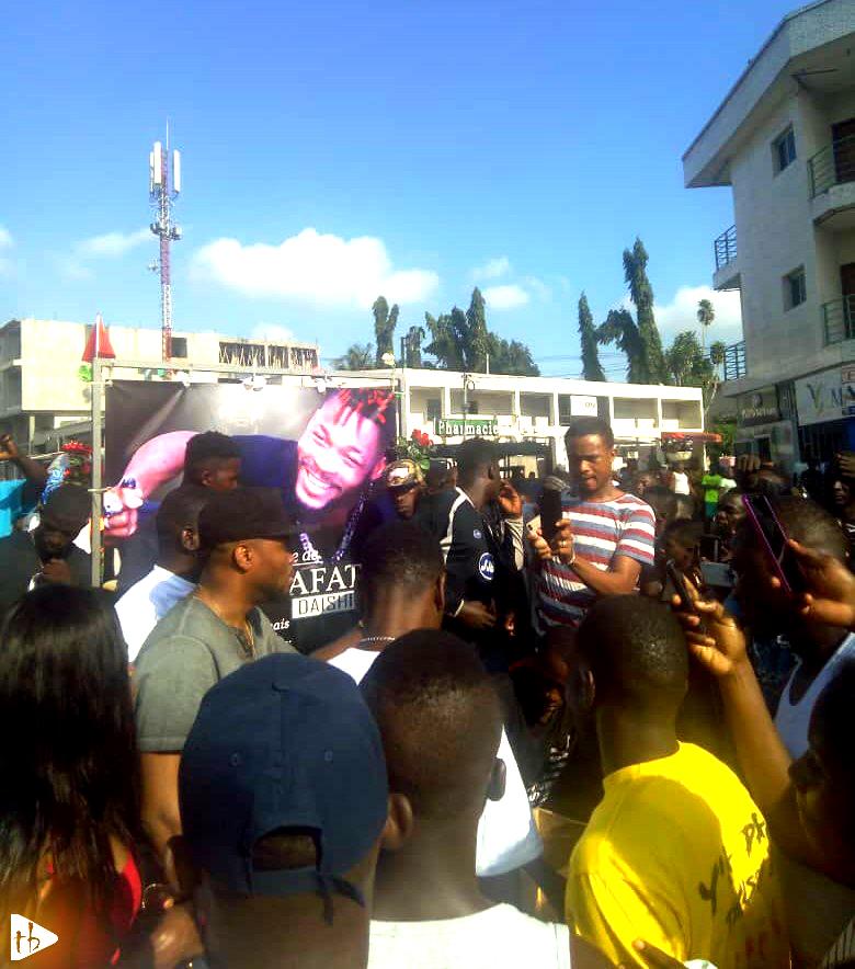 Obsèques de DJ Arafat : Dibi Dobo était le seul représentant du Bénin