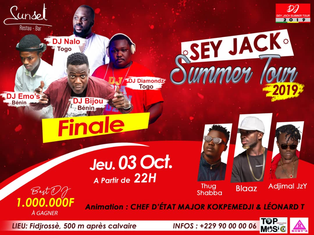 Sey Jack Summer Tour 2019