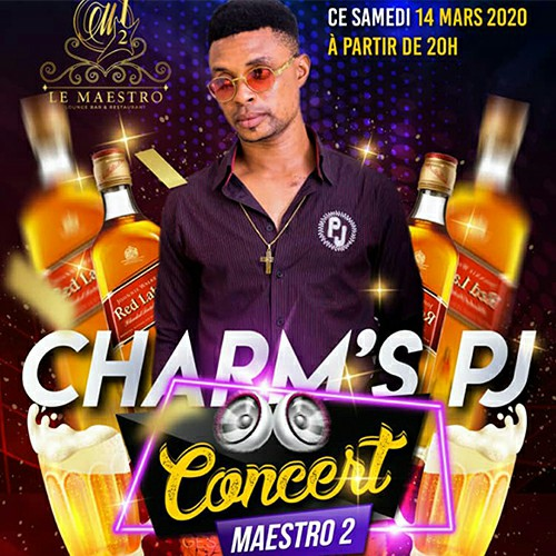 Charm's PJ en concert au MAESTRO